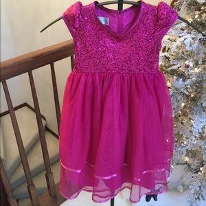 Pippa and Julie pink dress